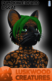 Luskwood Pumpkin Patch Leopard - Male - Complete Furry Avatar