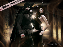 Tabou Irresistible:: couple of darkness pose Box