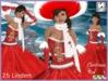 EL Christmas red dress  EJ-62 -149