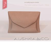 AUSHKA&CO-My Little Leather Clutch-Peach