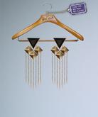 [ glow ] studio - The Pyramid Earrings