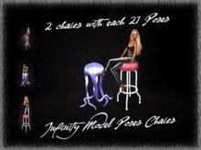 Infinity 2 Chairs Model Poses Boxed PROMO WEEK