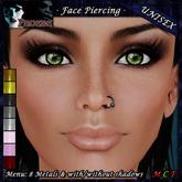 [$1L PROMO] ~ *P* Unisex Face Piercing U2 ~8 Metals~