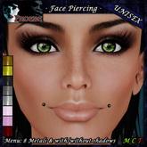 [$1L PROMO] ~ *P* Unisex Face Piercing U3 ~8 Metals~