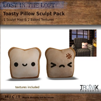 Trowix - Toasty Pillow Sculpt Pack
