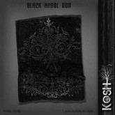 KOSH- BLACK ANGEL RUG