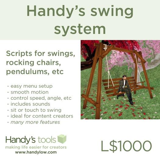 Handy's swing system