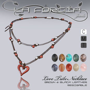 "*Love Tribe Necklace"" by La Forgia Jewels"
