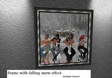 Frame with snow effects (boxed)