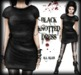 Corvus : Black Knotted Dress