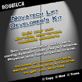 Novatech Elevator Developer's Kit