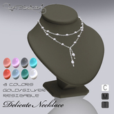 """*Delicate Necklace"""" by La Forgia Jewels"""