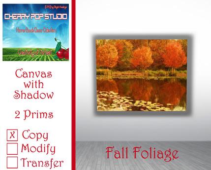 [CPS] Fall Foliage Canvas