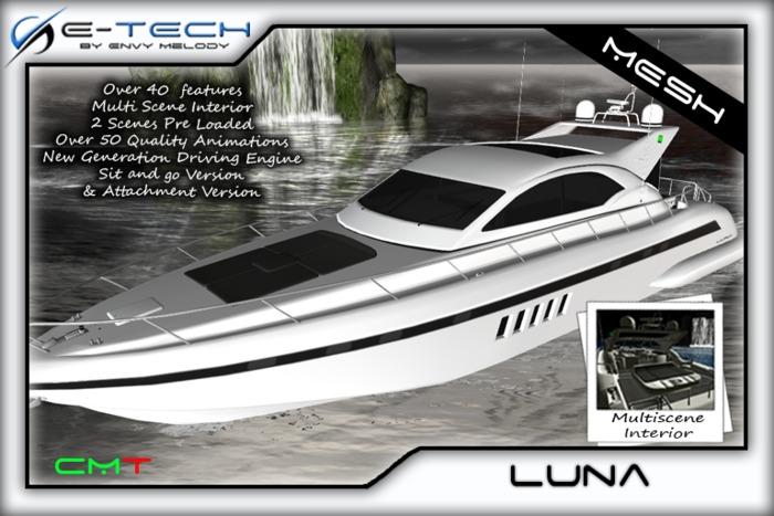 (E-Tech) Luna Multiscene Yacht MESH