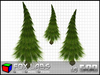 *SALE* 3 Prim Pine Trees - Full Perm - High Quality Sculpts