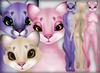 Cougar - Pastels Pack - Chinchilla Furry Mod BOM