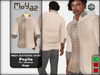Pepito Mesh Buttoned Shirt - 70`s Collection - Beige
