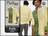 Pepito Mesh Buttoned Shirt - 70`s Collection - Cream