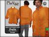 Pepito mesh buttoned shirt basic orange