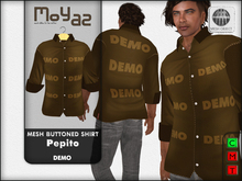 Pepito Mesh Buttoned Shirt - DEMO