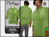 Pepito Mesh Buttoned Shirt - Basic Collection - Green