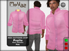Pepito mesh buttoned shirt basic pink