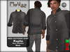 Pepito Mesh Buttoned Shirt - Basic Collection - Black