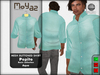 Pepito Mesh Buttoned Shirt - Basic Collection - Aqua