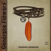 CONCRETE FLOWERS- PHOENIX ARMBAND