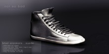 not so bad . MAEL sneakers . suede grey