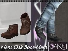 [>CaKe!!<]]- Mens Oak Boot-Brown