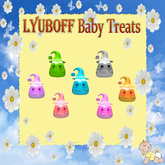 7 LYUBOFF Baby Treats - Cute Candy Corns