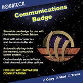 Novatech Communications Badge
