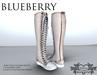 Blueberry Knee High *Mesh* Sneaker Boots Beige