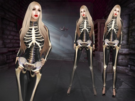 Boudoir Halloween-Deadly Chic Catsuit