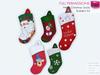 FULL PERM 1 Prim Full Perm Mesh Christmas Socks - Stockings - Builder's Kit