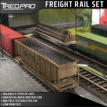 Tredpro Freight Railcars And Tracks