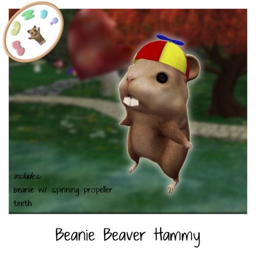 MUZI - Beanie Beaver Hammy - Free