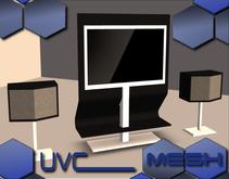 UVC Co. - HiFi TV & Speaker Package MESH