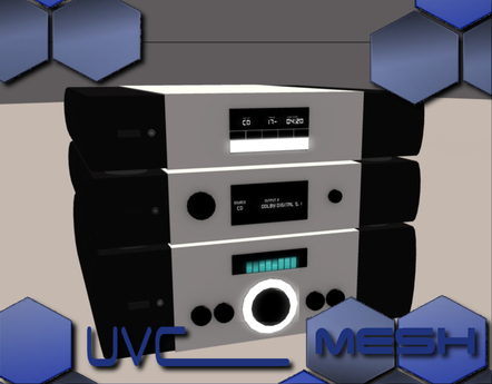 UVC Co. - HiFi Media Tower MESH
