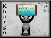 Khargo: Hungry Panda Tip Jar / Tipjar