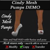 Cindy Mesh Pump FREE DEMO