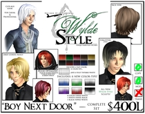 - Boy Next Door - A Wylde Style by Khyle Sion at ~Refined Wild~