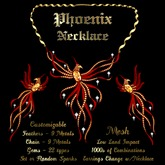 Ashira's Phoenix Necklace
