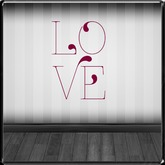 *~LT~* LOVE Wall Art Decal