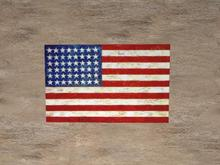 *Stars and Stripes old* american flag
