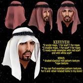 Sculpted Keffiyeh / Shemagh set DEMO