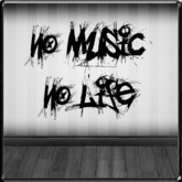 *~LT~* No Music No Life Wall Art Decal