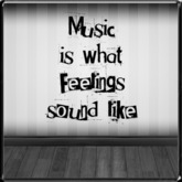 *~LT~* Music Sounds Like Wall Art Decal