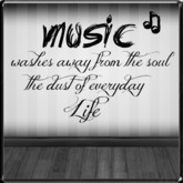 *~LT~* Music Soul Wall Art Decal